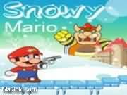 العاب مسدس ماريو الثلجي 2015 - لعبة مسدس ماريو الثلجي 2016
