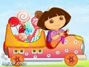 العاب سيارة نقل حلويات دورا 2015 - لعبة سيارة نقل حلويات دورا 2016