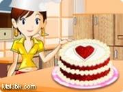 العاب طبخ الكيكة الحمراء 2015 - لعبة طبخ الكيكة الحمراء 2016