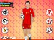 العاب تلبيس كريستيانو رونالدو 2015 - لعبة تلبيس كريستيانو رونالدو 2016