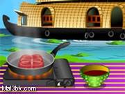 العاب طبخ سمك السلمون الترياكي 2015 - لعبة طبخ سمك السلمون الترياكي 2016