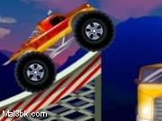 العاب شاحنة القفز فوق السيارات 2015 - لعبة شاحنة القفز فوق السيارات 2016
