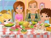 العاب تزيين طاولة طعام العائلة 2015 - لعبة تزيين طاولة طعام العائلة 2016