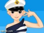 العاب تلبيس قبطانة السفينة 2015 - لعبة تلبيس قبطانة السفينة 2016