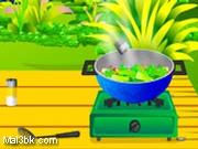 العاب طبخ الخضار المقلية 2019 - لعبة طبخ الخضار المقلية 2020