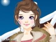 العاب تلبيس باربي فتاة الثلوج 2015 - لعبة تلبيس باربي فتاة الثلوج 2016