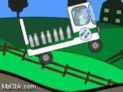 العاب سيارة نقل الحليب 2015 - لعبة سيارة نقل الحليب 2016