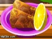العاب طبخ السمك المحشي 2015 - لعبة طبخ السمك المحشي 2016