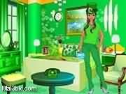 العاب ديكورالغرفة الخضراء 2015 - لعبة ديكورالغرفة الخضراء 2016