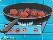 العاب طبخ كرات اللحم 2015 - لعبة طبخ كرات اللحم 2016