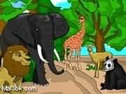 العاب تلوين حيوانات الغابة 2015 - لعبة تلوين حيوانات الغابة 2016
