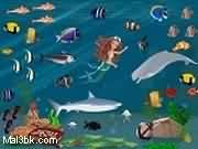 العاب ترتيب الاسماك و حورية البحر 2019 - لعبة ترتيب الاسماك و حورية البحر 2020