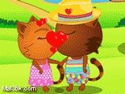 العاب تقبيل القطة سيسي 2015 - لعبة تقبيل القطة سيسي 2016