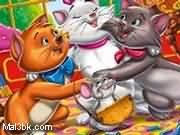 العاب تلوين القطة ارستو 2015 - لعبة تلوين القطة ارستو 2016