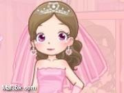 العاب تلبيس العروسة فستان زهري 2015 - لعبة تلبيس العروسة فستان زهري 2016