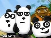 العاب دببة الباندا الثلاثة في الليل 2015 - لعبة دببة الباندا الثلاثة في الليل 2016
