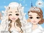 العاب مكياج تلبيس عروسة الثلج 2015 - لعبة مكياج تلبيس عروسة الثلج 2016