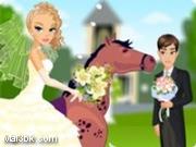 العاب تلبيس العروسة على الحصان 2015 - لعبة تلبيس العروسة على الحصان 2016
