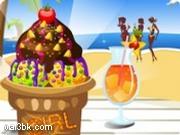 العاب تزين ايسكريم الشاطئ 2015 - لعبة تزين ايسكريم الشاطئ 2016