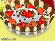 العاب طبخ كيك الشوكولاتة و القشطة 2015 - لعبة طبخ كيك الشوكولاتة و القشطة 2016