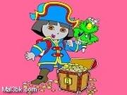 العاب تلوين دورا وكنزل القراصنة 2019 - لعبة تلوين دورا وكنزل القراصنة 2020