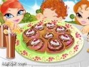 العاب طبخ كيكة القرفة 2015 - لعبة طبخ كيكة القرفة 2016