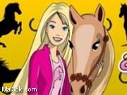 العاب تلوين باربي مع حصانها 2015 - لعبة تلوين باربي مع حصانها 2016