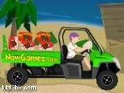 العاب سيارة نقل صناديق الايسكريم 2015 - لعبة سيارة نقل صناديق الايسكريم 2016