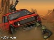 العاب سيارة دعس الزومبي الجزء الثاني 2015 - لعبة سيارة دعس الزومبي الجزء الثاني 2016