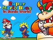 العاب ماريو في عالم سونيك الجزء الثاني 2015 - لعبة ماريو في عالم سونيك الجزء الثاني 2016
