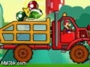العاب شاحنة نقل بضائع ماريو 2015 - لعبة شاحنة نقل بضائع ماريو 2016