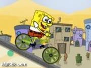 العاب دراجة سبونج بوب BMX 2015 - لعبة دراجة سبونج بوب BMX 2016