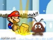 العاب مغامرات ماريو في الثلج 2015 - لعبة مغامرات ماريو في الثلج 2016