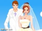العاب تلبيس العروسة و العريس الخيالية 2015 - لعبة تلبيس العروسة و العريس الخيالية 2016