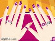 العاب مناكير اظافر اليدين الجميلة 2015 - لعبة مناكير اظافر اليدين الجميلة 2016