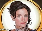 العاب مكياج جوليا روبرت 2015 - لعبة مكياج جوليا روبرت 2016