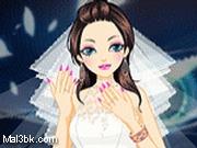 العاب مناكير اظافر العروسة 2015 - لعبة مناكير اظافر العروسة 2016