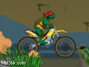 العاب دراجة سلاحف النينجا النارية 2015 - لعبة دراجة سلاحف النينجا النارية 2016