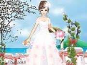 العاب تلبيس ملابس العرس على الشاطئ 2015 - لعبة تلبيس ملابس العرس على الشاطئ 2016