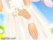 العاب مناكير اظافر العروسة الرقيقة 2015 - لعبة مناكير اظافر العروسة الرقيقة 2016